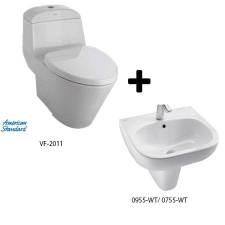 Bộ sản phẩm phòng tắm American Gói A1