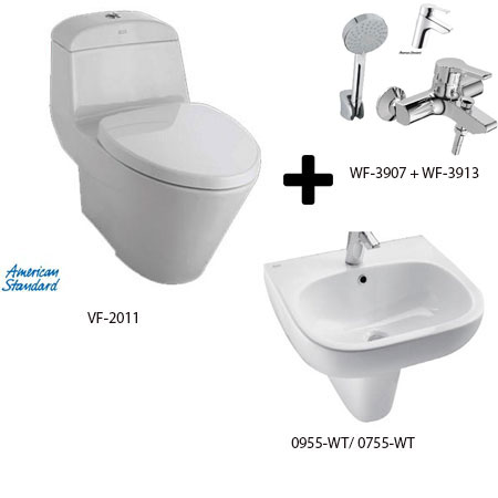 Bộ sản phẩm phòng tắm American Gói A3-Mùa Đông