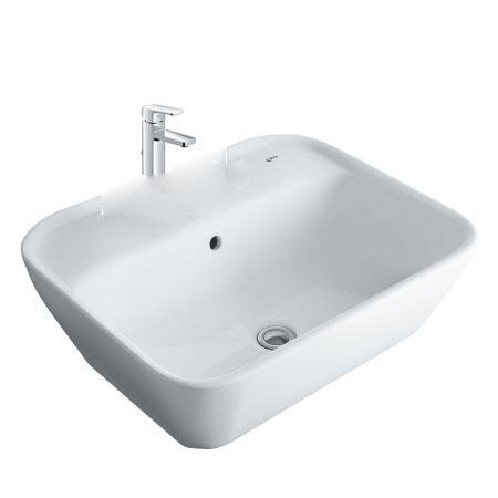 Chậu lavabo kèm vòi rửa Inax AL-296V+LFV-5012S