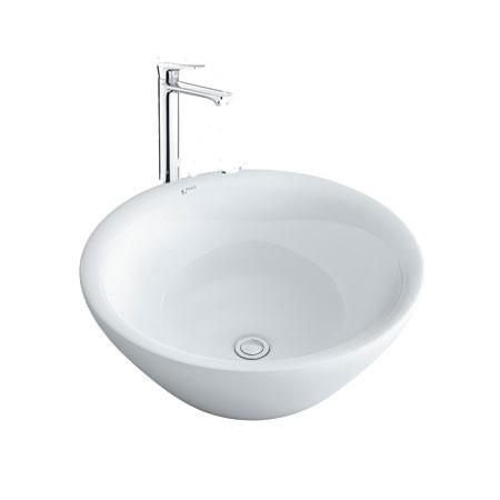 Chậu lavabo kèm vòi rửa Inax AL-445V+LFV-502SH
