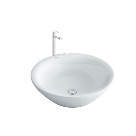 Chậu lavabo kèm vòi rửa Inax AL-445V+LFV-7100SH