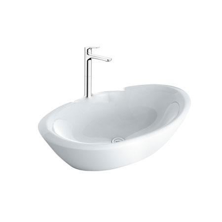 Chậu lavabo kèm vòi rửa Inax AL-465V+LFV-1402SH