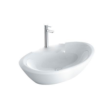 Chậu lavabo kèm vòi rửa Inax AL-465V+LFV-8000SH2