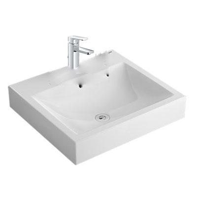 Chậu lavabo kèm vòi rửa Inax AL-536V+LFV-5012S