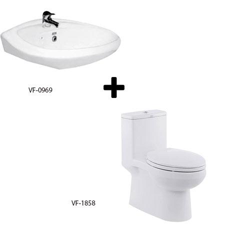Bộ sản phẩm phòng tắm American (Gói C6-Mùa Đông)