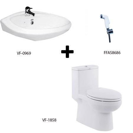 Bộ sản phẩm phòng tắm American (Gói C7-Mùa Đông)