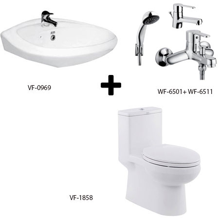 Bộ sản phẩm phòng tắm American (Gói C8-Mùa Đông)