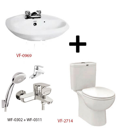 Bộ sản phẩm phòng tắm American (Gói D10-Mùa Đông)