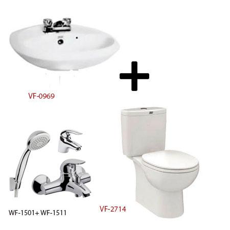 Bộ sản phẩm phòng tắm American (Gói D11-Mùa Đông)