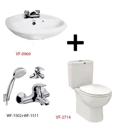 Bộ sản phẩm phòng tắm American (Gói D12-Mùa Đông)