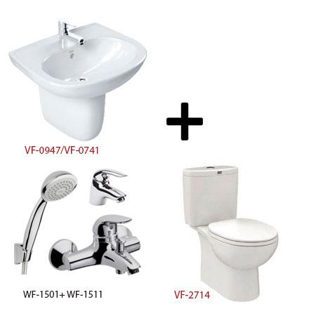 Bộ sản phẩm phòng tắm American (Gói D3-Mùa Đông)