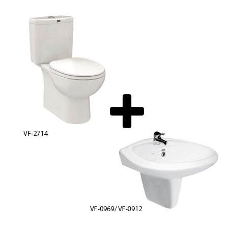 Bộ sản phẩm phòng tắm American (Gói D7-Mùa Đông)