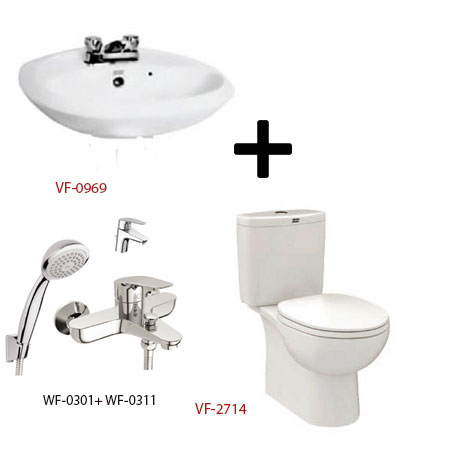 Bộ sản phẩm phòng tắm American (Gói D9-Mùa Đông)
