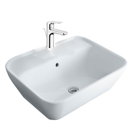 Chậu lavabo kèm vòi rửa Inax AL-296V+LFV-1402S