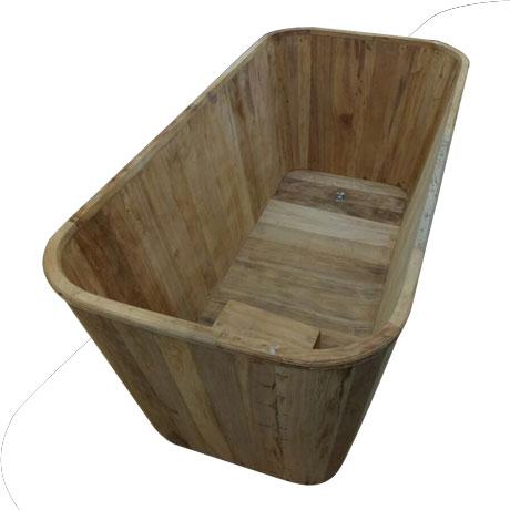 Bồn tắm gỗ Ngọc Am (đặt theo yêu cầu)