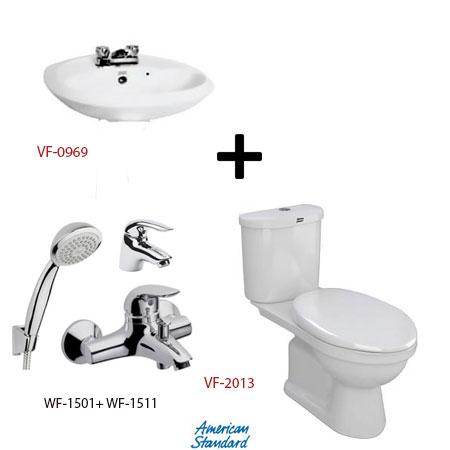 Bộ sản phẩm phòng tắm American (Gói S13-Mùa Đông)