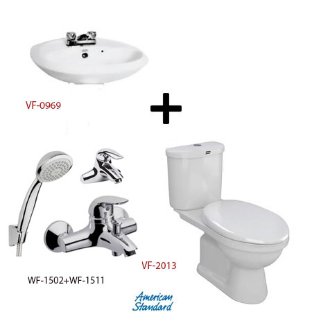 Bộ sản phẩm phòng tắm American (Gói S14-Mùa Đông)