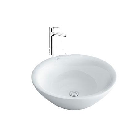Chậu lavabo kèm vòi rửa Inax AL-445V+LFV-1402SH
