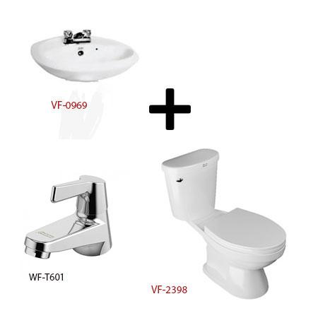Bộ sản phẩm phòng tắm American (Gói W6 -Mùa Đông)