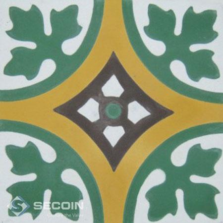 Gạch bông Secoin 15×15 D005