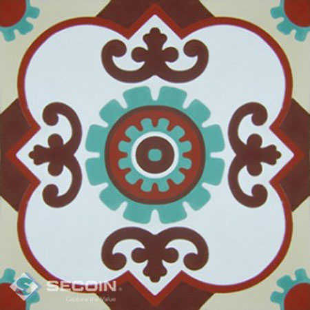 Gạch bông Secoin 30×30 H102