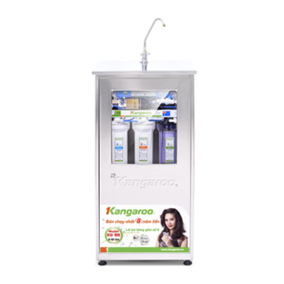 Máy lọc nước Kangaroo KG-105 (Tủ inox nhiễm từ)