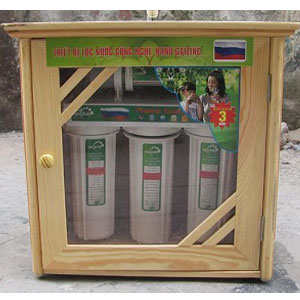 Tủ Gỗ cho máy lọc nước