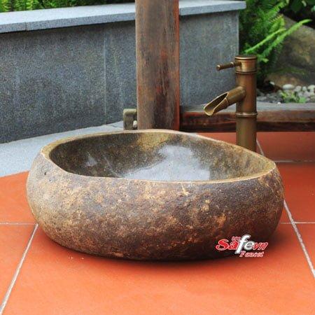 Chậu rửa lavavo đá tự nhiên SafeVN LDTN 001