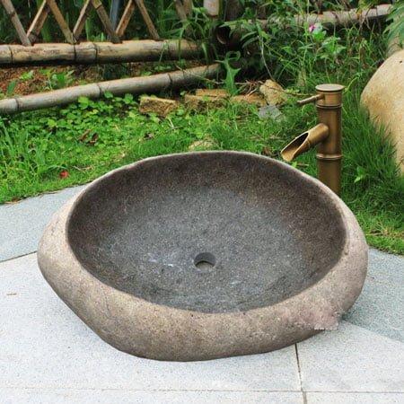 Chậu lavabo đá tự nhiên SafeVN LDTN 004