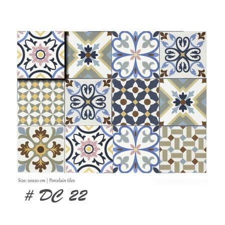 Gạch bông Thanh Xoan 20×20 DC22