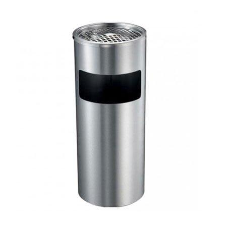 Thùng rác inox có gạt tàn Ecolife ECO118