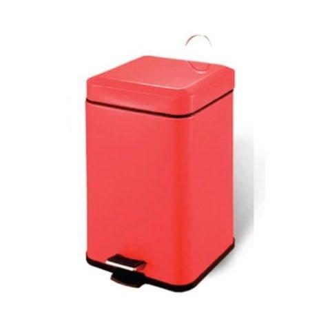 Thùng rác inox đạp chân sơn tinh điện SafeVN ECO209