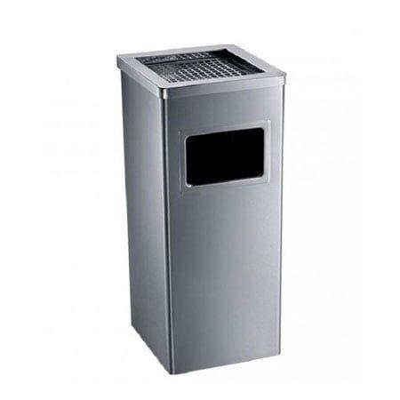 Thùng rác inox có gạt tàn Ecolife ECO115