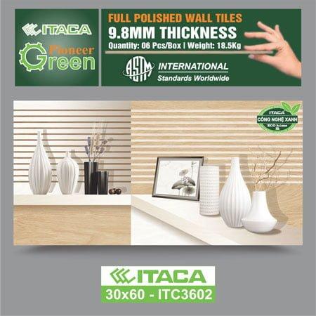 Gạch ốp tường ITACA 30×60 ITC3602