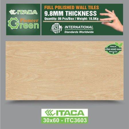 Gạch ốp tường ITACA 30×60 ITC3603