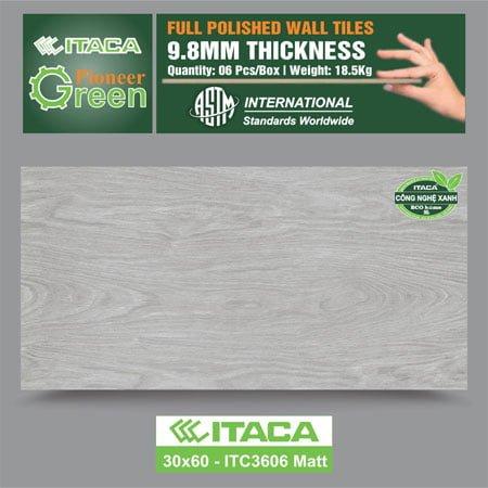 Gạch ốp tường ITACA 30×60 ITC3606 Matt