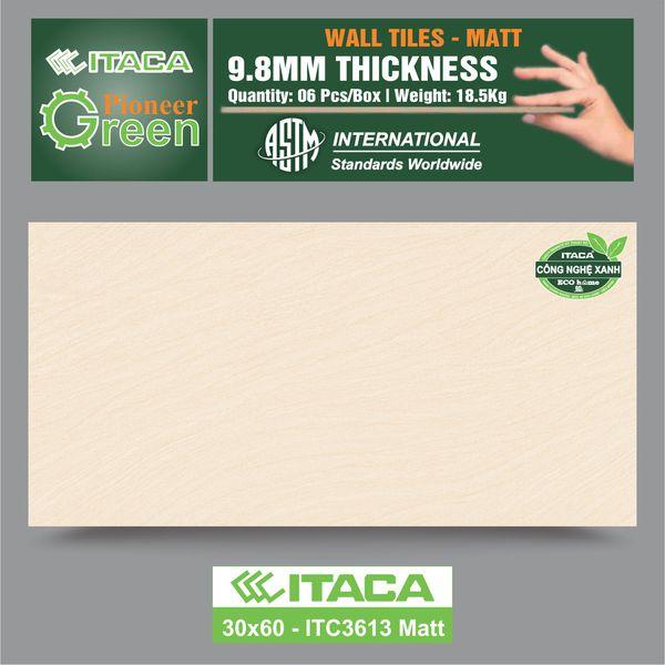Gạch ốp tường ITACA 30×60 ITC3613 Matt
