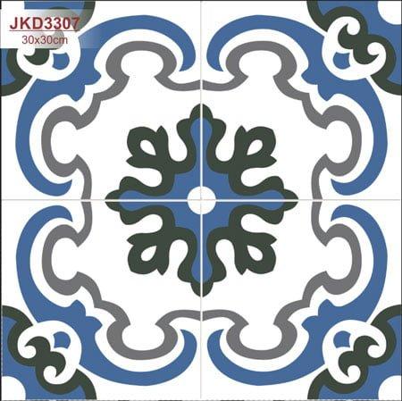 Gạch bông Thanh Xoan 30×30 JKD3307