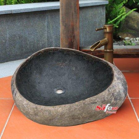 Chậu rửa lavabo đá tự nhiên SafeVN LDTN 003
