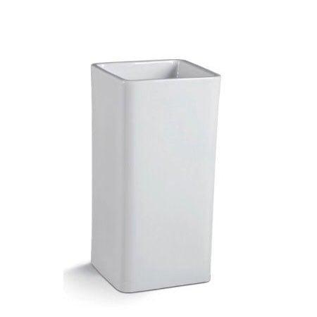 Chậu rửa mặt lavabo chân đứng nghệ thuật LT-004A (KT:40.5×40.5x82cm)
