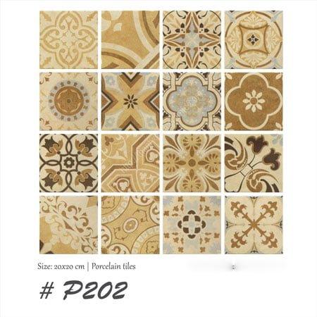 Gạch bông Thanh Xoan 20×20 P202