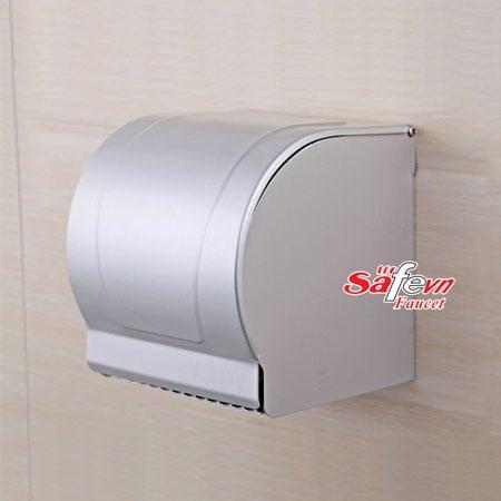 Hộp đựng giấy vệ sinh cuộn nhỏ nhôm SafeVN QM 117
