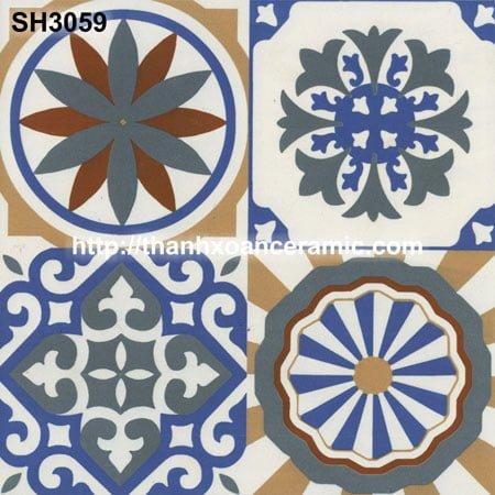 Gạch bông Thanh Xoan 30×30 SH3059