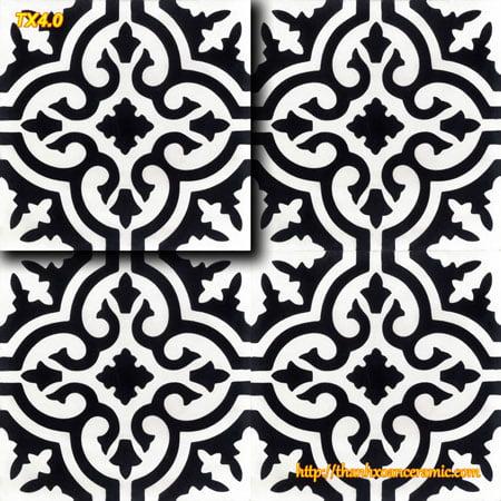 Gạch bông truyền thống Thanh Xoan 20×20 TX4.0