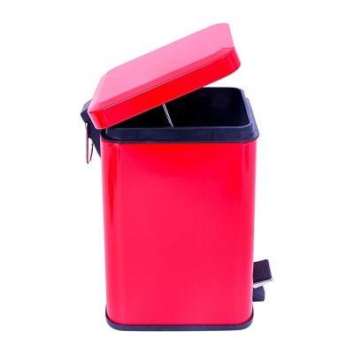 Thùng rác thép sơn Ecolife ECO 209