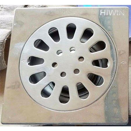 Ga thoát sàn Hiwin FD-1210TK (Inox 201-Bóng-phi 76)