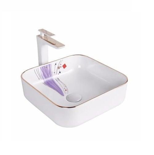 Chậu rửa lavabo nghệ thuật HCG 223