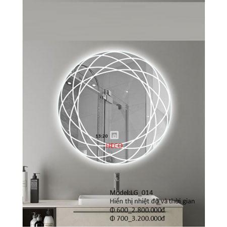 Gương sấy cảm ứng đèn Led Heco LG -014