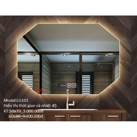 Gương sấy cảm ứng đèn Led Heco LG-101