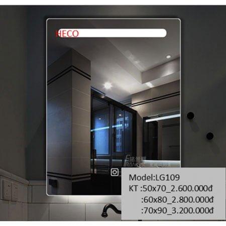 Gương sấy cảm ứng đèn Led Heco LG-109